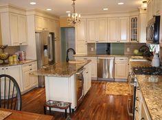 DIY Money-Saving Kitchen Remodeling Tips | DIY Kitchen Design Ideas - Kitchen Cabinets, Islands, Backsplashes | DIY