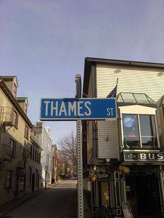 Thames St Newport, RI