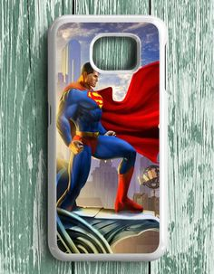 Superman Cartoon Comic Samsung Galaxy S7 Edge Case