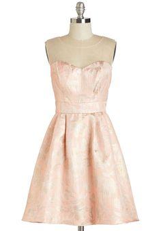 Vintage Wedding Style - Off to Gleam-land Dress