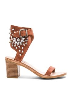 3a3f235eec2952 Jeffrey Campbell Iowa Sandals in Tan Clear Cinderella Slipper