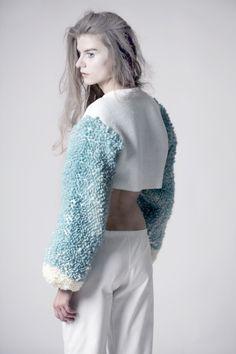 Sweter unikatowy - zaworskaanna - Swetry i bezrękawniki