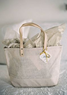 Wedding Guest Bags on Pinterest Beach Themed Weddings, Welcome Bags ...