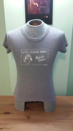 2da8b0024e68 This item is unavailable. Vintage DKNY Women s Grey T-Shirt by  VintageMixWest on Etsy