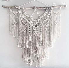 Image result for how to macrame on a branch