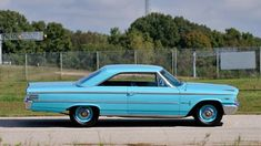 Ford Stock, Turquoise Painting, Ford Galaxie, Steel Wheels, American Muscle Cars, Manual Transmission, Quad, Antique Cars, Classic Cars