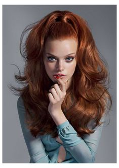 Bright Red Hair Dye, Dyed Red Hair, Red Hair Color, Color Caoba, Redhead Hairstyles, Hairstyles With Bangs, Cool Hairstyles, Hairstyle Ideas, Updo Hairstyle