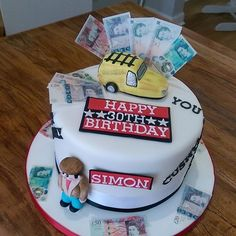 A fantastic Only Fools Horses cake by Love that edible money! 18th Birthday Cake, Horse Birthday, Birthday Cakes For Men, Birthday Ideas, Paul Cakes, Only Fools And Horses, Best Edibles, Horse Cake, Big Cakes