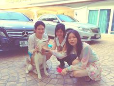 With Mama and Pookpui.^^