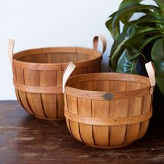 these beautiful baskets are suddenly the hottest thing in the shop — get yours before they're gone!