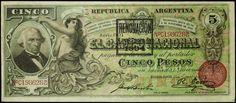 Argentina banknotes 5 Pesos
