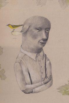 oiseau jaune - joanna concejo