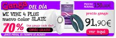 REBAJAS en Outlet-Erotico con precios escandalosos como los del We Vibe 4 plus desde 91,90 €  http://www.outlet-erotico.com/sexshop-online/ofertas/para-parejas/we-vibe-4-plus-slate-control-remoto-desde-movil-288820-compra.html