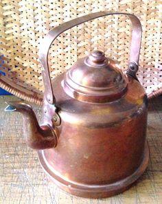 Rothberg OY TURKU Copper Teapot Water Kettle 2 liter