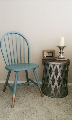 These beauties are vintage wooden chairs restored. Each Ahava Designs TX furnishing is hand restored, redesigned, and hand painted.