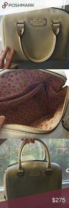 Kate spade bag one hour Cream kate spade trade value 325 kate spade Bags Satchels