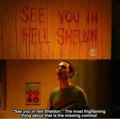 The Big Bang Theory! Sheldon is hilarious. Big Bang Theory, The Bigbang Theory, Just For Laughs, The Funny, Nerd Funny, Funny Memes, Favorite Tv Shows, Favorite Person, Favorite Quotes