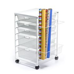 The Container Store > elfa Gift Wrap Organizer