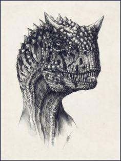 Carnotaurus by *AntarcticSpring @ deviantART http://antarcticspring.deviantart.com/