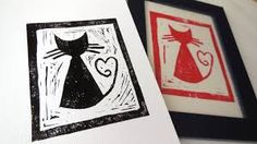 Image result for easy linocut designs