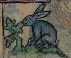 Detail from medieval manuscript, British Library Stowe MS 17 'The Maastricht Hours' f25v