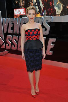 Scarlett Johansson en Prada.