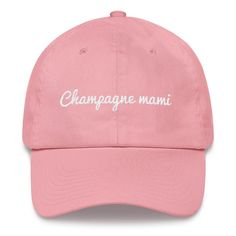 528075adebc48 Champagne Mami Hat Dad Hats
