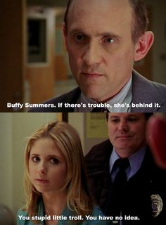 This line is amamzing i love that she calls him that i would of too! Then later in the series he gets eaten, lol made my day