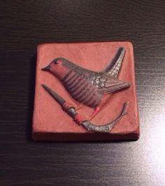 Thyssen Keramik Art Pottery Tile Denmark Mid Century