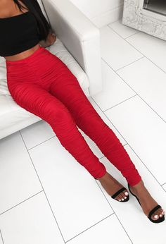 Take your style to new temps with these super hot red skinny trousers from Pink Boutique. Order now with NDD to look flawless at the weekend! Red Trousers, Trousers Women, Pink Boutique Uk, Cami Tops, Sweater Weather, Stretch Fabric, White Jeans, Fashion Looks, Expensive Taste
