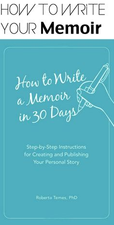 Write your own memoir book