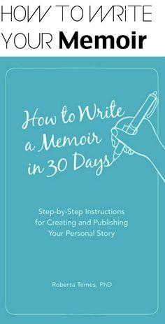 How to write a good application memoir