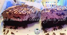 torta brownie con mousse de chocolate granizado - la tasca bar vintage