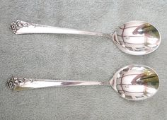 """DAMASK ROSE BY ONEIDA STERLING SILVER PUNCH LADLE 13 3//4/"""" TWIST HHWS CUSTOM MADE"""