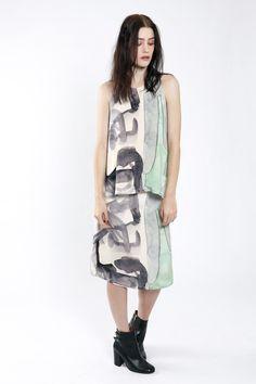 Partimi AW13 Brancusi Top and Esme Skirt
