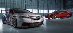 ACURA TLX GT RACE CAR UNVEILED AT NORTH AMERICAN INTERNATIONAL AUTO SHOW