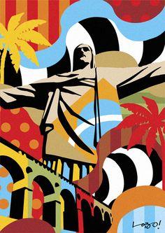 corcovado-2-rio-de-janeiro-lobo-pop-art.jpg 424×600 pixels