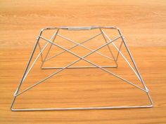 Eames イームズ キャッツクレードルタイプベース 新品クロームメッキ 北欧 インテリア 雑貨 家具 Modern ¥5300yen 〆12月12日