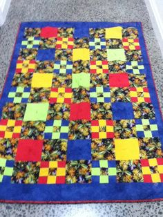 Quilt made by me