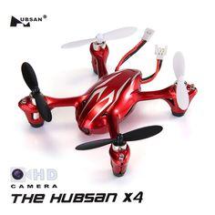 Hubsan X4 H107C 4CH RC Quadcopter 2.4G 6 Axis Gryo 2.0MP Camera RTF - White & Red