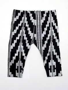 Hand Printed Navajo Baby Leggins - oh jeebs, I need Finn to have these. OR, I will learn how to make them. Thinking the latter.