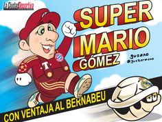 Super Mario Gómez, chequen la pobre tortuga merengue