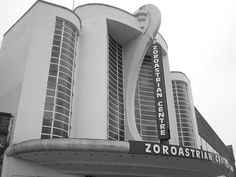 Grovenors cinema, at Rayners lane, Harrow, Middlesex (1936). Actually the Zoroastrian Centre.
