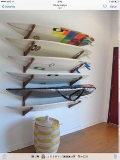 Resultado de imagem para suporte para pendurar pranchas de surf