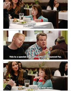 Pho ~ Modern Family Quotes ~ #modernfamily #modernfamilyquotes