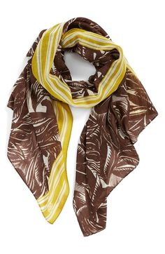 Tory Burch 'Tabora' Print Scarf available at #Nordstrom