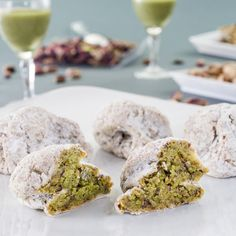 #Sweet #pistachio #cookies from #Sicily