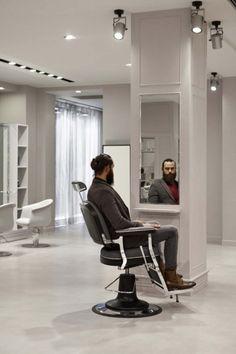design barber shop poway Hair Salon Interior, Salon Interior Design, Barbershop Design, Barber Shop, Design Inspiration, Chair, Architecture, Furniture, Shopping
