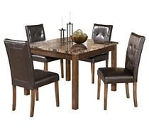 Kitchen / Dining Room Tables - Theo Dining Room Table with 4 Chairs | Ashley Furniture