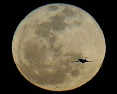 Last night's Full Crow Moon over San Diego, California 3/16/2014 shot by San Diego Scenic Photography